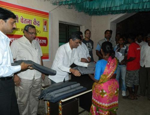 Blanket Distribution 2012